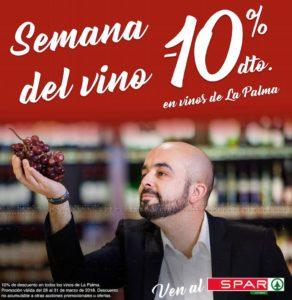 Semana del Vino Palmero en Spar La Palma