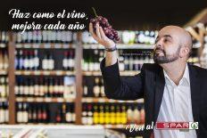 Colaboración del Restaurante el Canal con Spar La Palma. Vinos de La Palma. Carlos Díaz, Catador oficial de Vinos para Spar La Palma