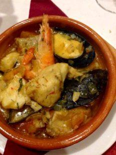 Cherne en salsa de mamá · Restaurante El Canal · San Andrés y Sauces